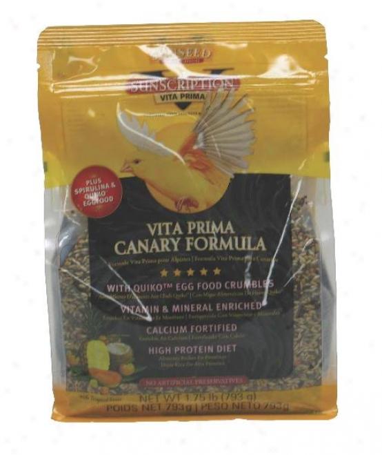 Sunseed Vita Prima Canary Food - 1.75 Lbs
