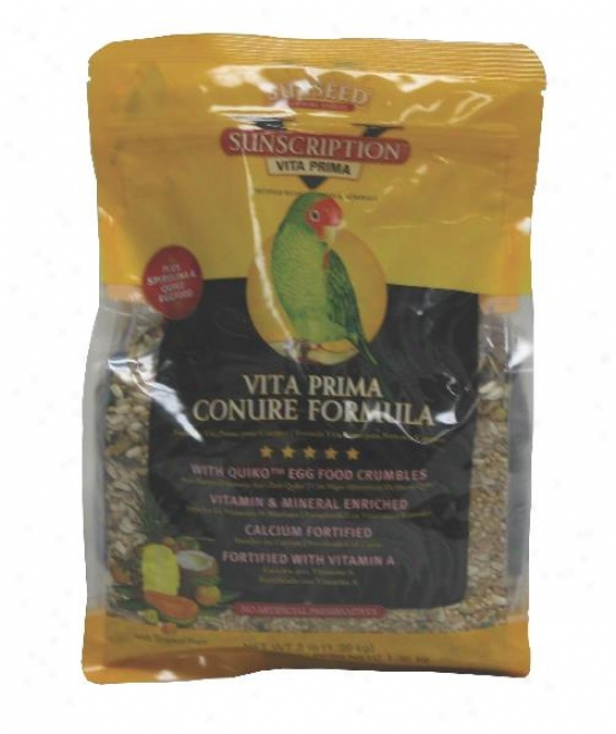Sunseed Vita Prima Conuer Food - 3 Lbs