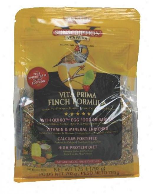 Sunseed Vita Prima Finch Food - 1.75 Lbs