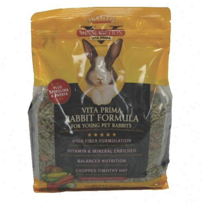 Sunseed Vita Prima Young Rabbit Food - 4 Lbs