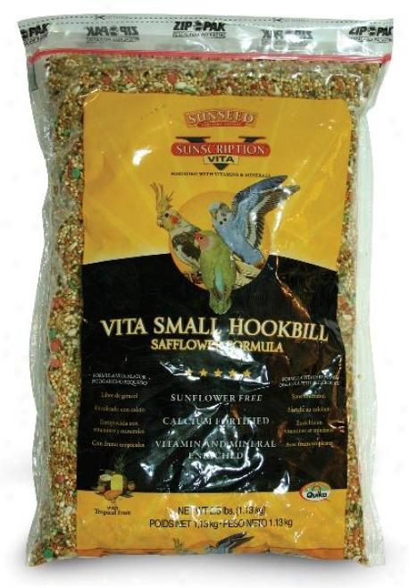 Sunseed Vita Small Hookbill Fiod