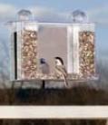 Super Songbird Oneway Mirror Feeder - Clear