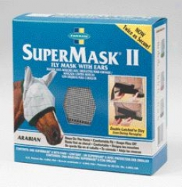Supermask Fly Mask With  Ears