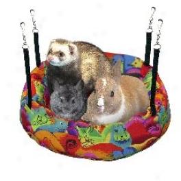 Swing N Slumber Bed For Small Animals - Multicopor