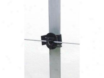 T-post Pinlck Insulator - Black - 25 Pack