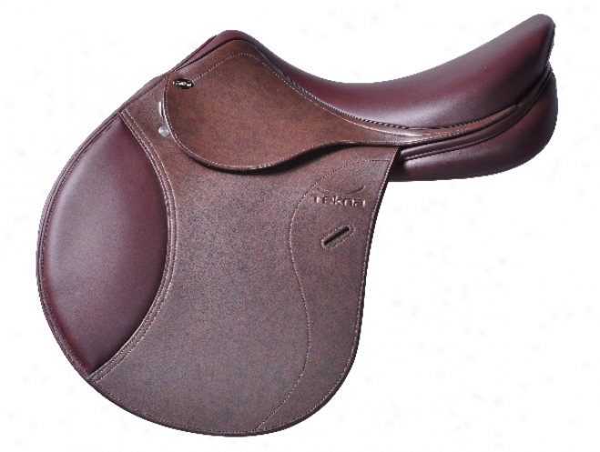 Tekna A4 Jumping Saddle - Smooth Seat