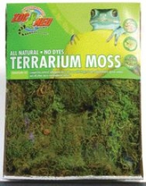 Terrarium Moss For Amphibians/reptiles - Green - 15-20 Gallln