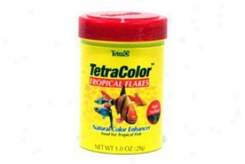Tetracolor Tropical Flakes - 1 Ounce
