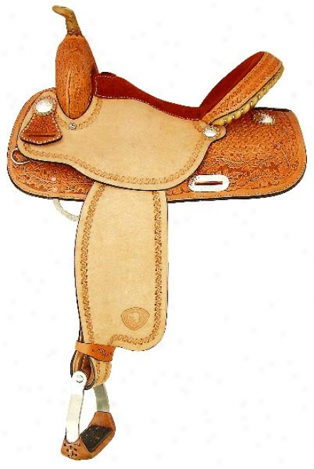 Tex Tan Barrel Champ Saddle