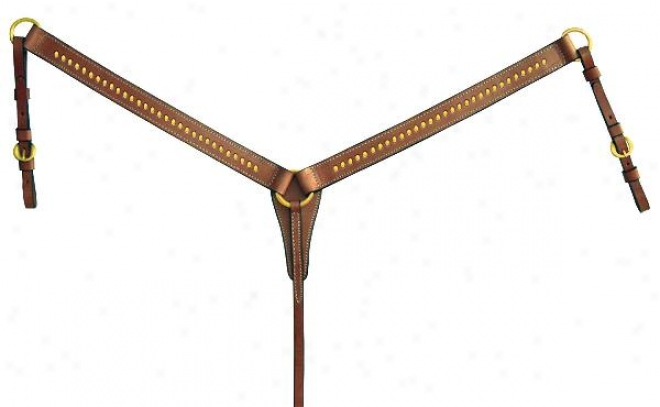 Tex Tan Breast Collar - Pecan - Horse