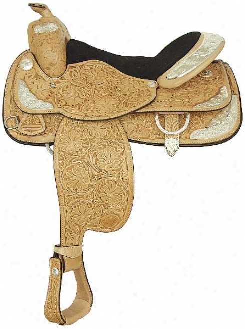 Tex Convert into leather Hereford All American Show Saddle - Ultra Light - 16