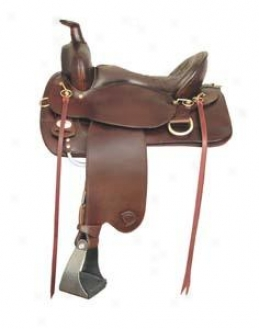 Tex Tan Hereford Eminence Trail Saddle X Wide Tree The