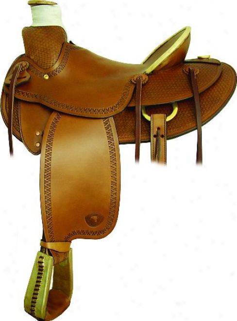Tex Tan Hereford Flagstaff Ranch Saddle - Pecan - 16