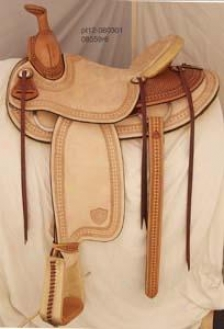 Textan Imperial Ranch Saddle - Russet - 16