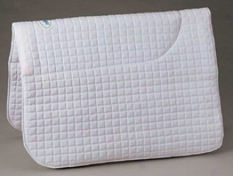 Toklat Quilted Equigel qSuare Pad - White - 26 Wide By 39 Long