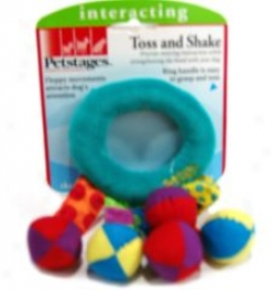 Toss And Shake Folly For Dogs - Multicolor