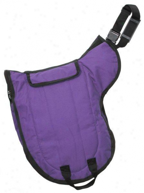 Tough-1 Deluxe English Saddle Case With  Girth