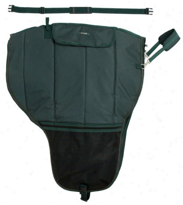 Tough-1 Deluxe Western Saddle Carrier With Girth
