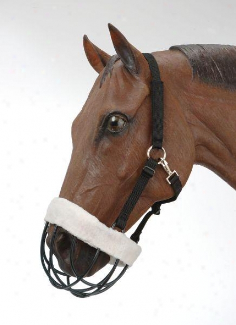 Tough-1 Freedom Muzzle With  Nylon Headstall - Horse