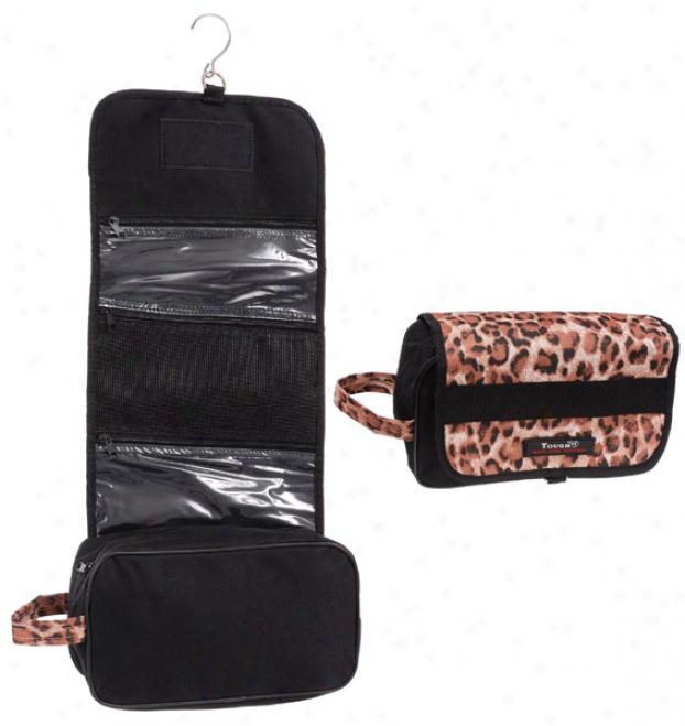 Tough-1 Print Roll-up Accessory Bag - Leopard