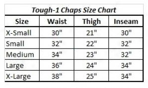Tough-1 Synthetic Equitation Chaps