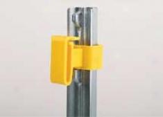 Tpost Tape Insulator - Yellkw - 25 Pack