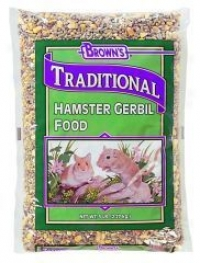 Traditional Hamtser/gerbil Food
