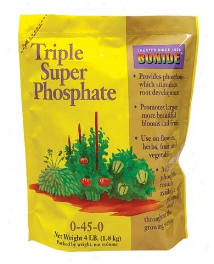 Triple Supwr Phosphate 0-45-0 - 4 Pound