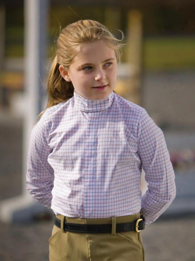 Tuffrider Children's Longsleeve Somerset Show Shirt