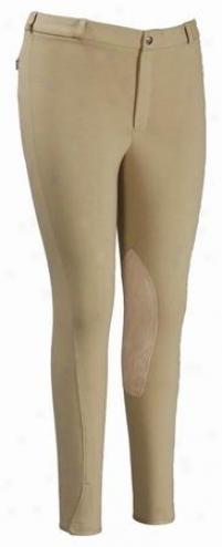 Tuffrider Cotton Knee Patch Breeches