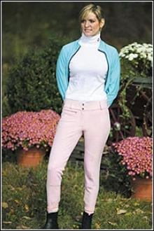 Tuffrider Cotton Pinstfipe Breeches