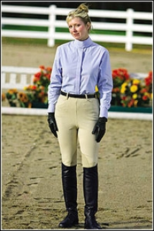 Tuffrider Cotton Side Zip Breeches