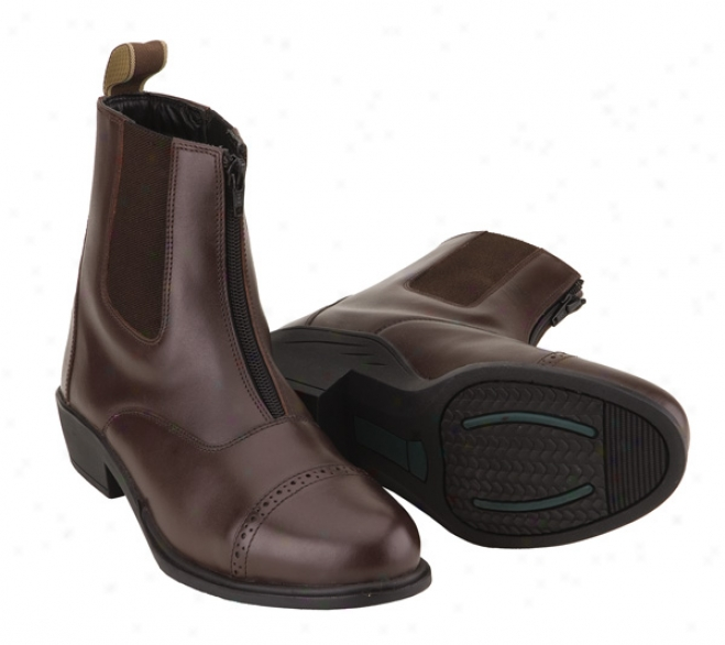 Tuffrider Envogue Con~ Zip Paddock Boots Ladies