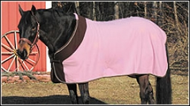 Tuffridwr Fleece Color Block Pony Dress Sheet