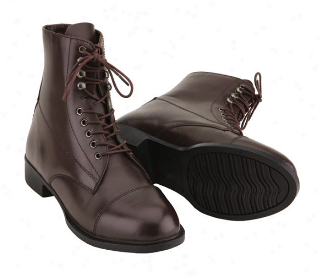 Tuffrider Instride Lace Up Paddock Boots Kids