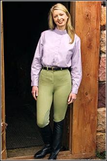 Tuffrider Ladies Cotton Figurefit Breeches