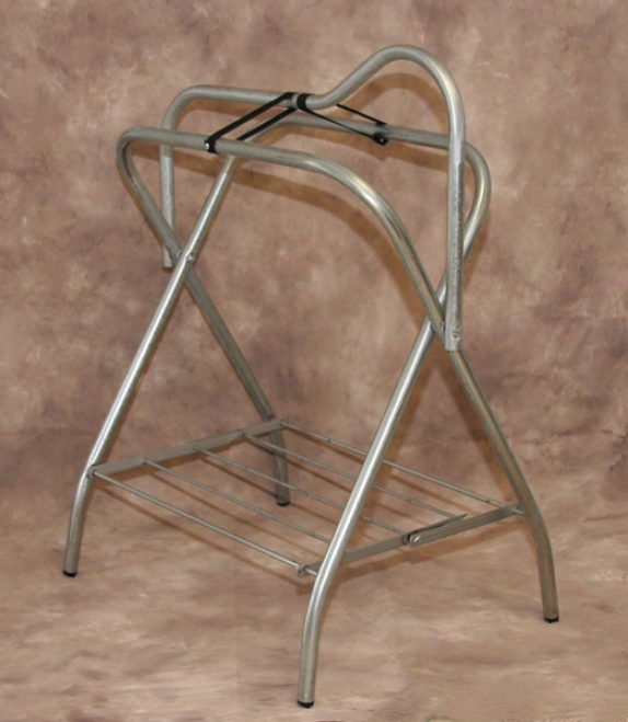 Tuffrider Movable Saddle Stand - Silver - Standard