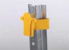 U Post Tape Insulator - Yellow - 25 Pack