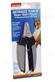 Ultimate Touch Super Nail Clipper - Blackk And Gray