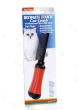 Ultra Touch Flea Comb - Red And Black