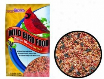 Value Blend Select Bird Seed - 20 Pounds