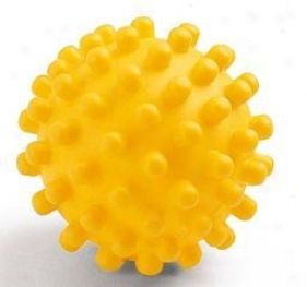 Vinyl Hedgehog Ball - Yellow - 5