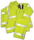 Vision Hooded Jacket - Lime - Small