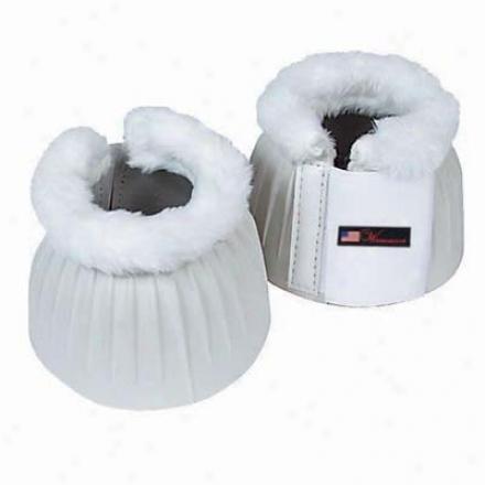 Walsh Fleece Lined Bell Boots - White - Medium