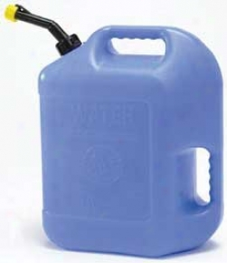 Wateer Container - Blue - 6.5 Gallon