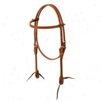 Weaver Barbed Wire Browband Headstall