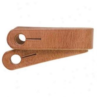 Weaver Basic Single-ply Tackle Lather Slobber Straps - Russet