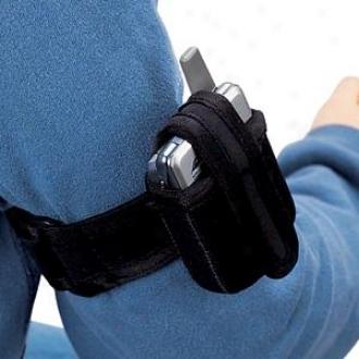 Weaver Cell Phone Holder - Black