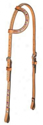 Weaver Crystal Sensation Flat Sliding Ear Headstall