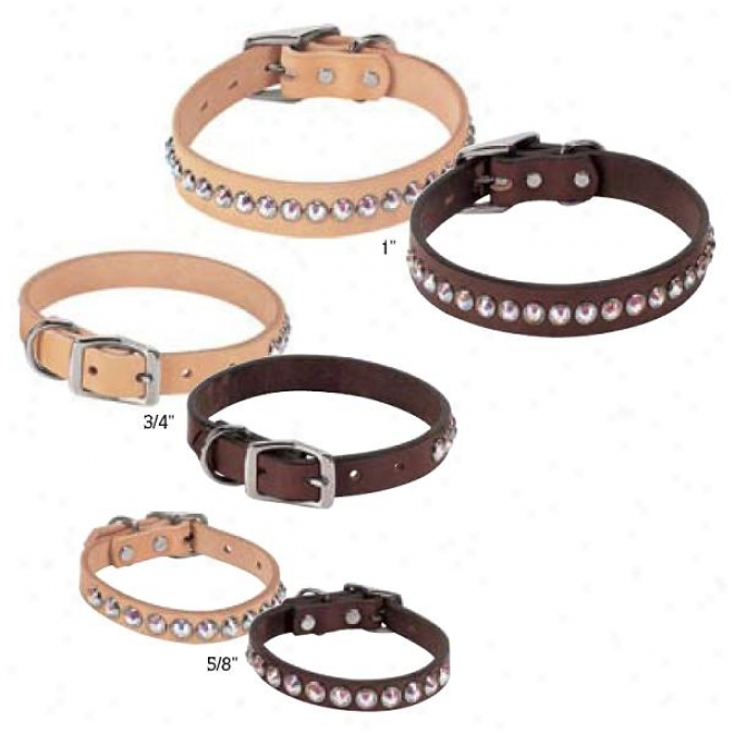 Weaver Diamond Rodeo Leather Collar